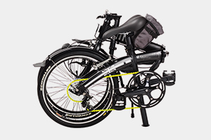 MINI – the folding bike for motorists